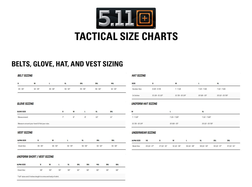 medium resolution of  need with the 5 11 tactical sizing chart