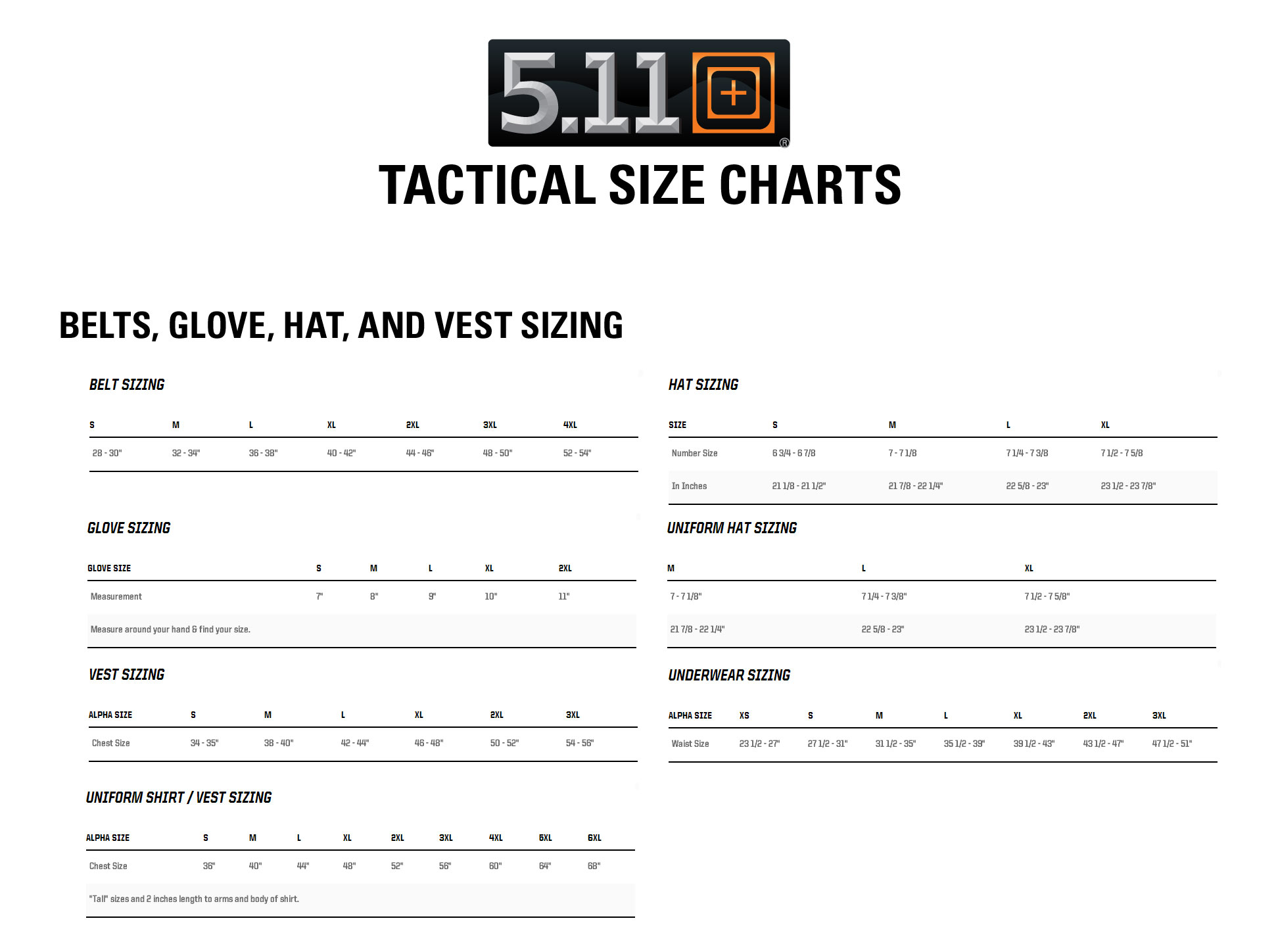 hight resolution of  need with the 5 11 tactical sizing chart