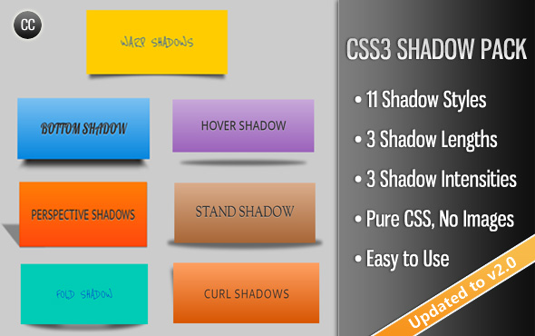 CSS3 Shadow Pack