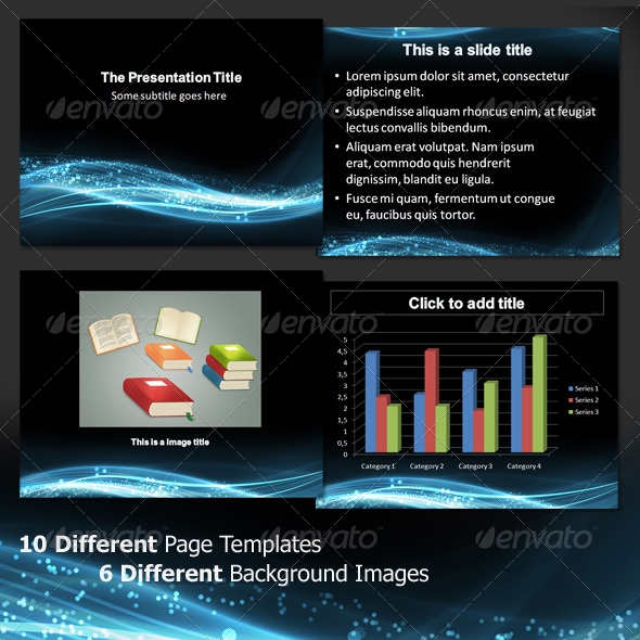 Slick presentation templates for Sales slick template