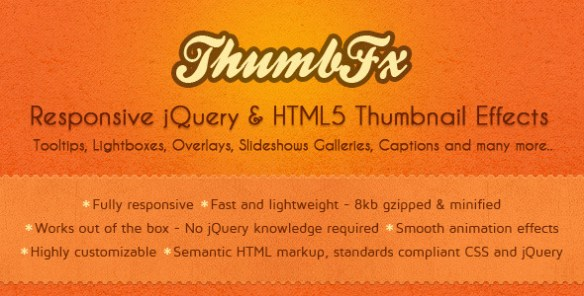 ThumbFx - Responsive jQuery Thumbnail Effects