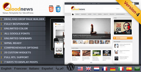 Goodnews – Premium WordPress News/Magazine - ThemeForest Item for Sale