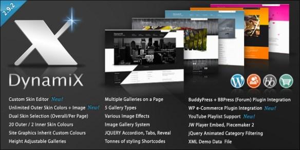 DynamiX - Premium WordPress Theme