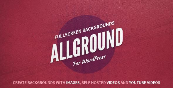 Allground - Responsive Fullscreen Backgrounds for WordPress