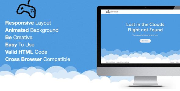 10 Unique 404 Page Templates Web Design Resources