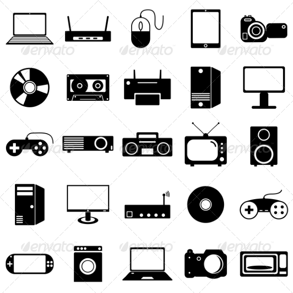 Free Device Electronic Icons » Dondrup.com
