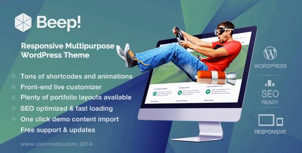 MetroStyle Responsive All Purpose WordPress Theme - 12
