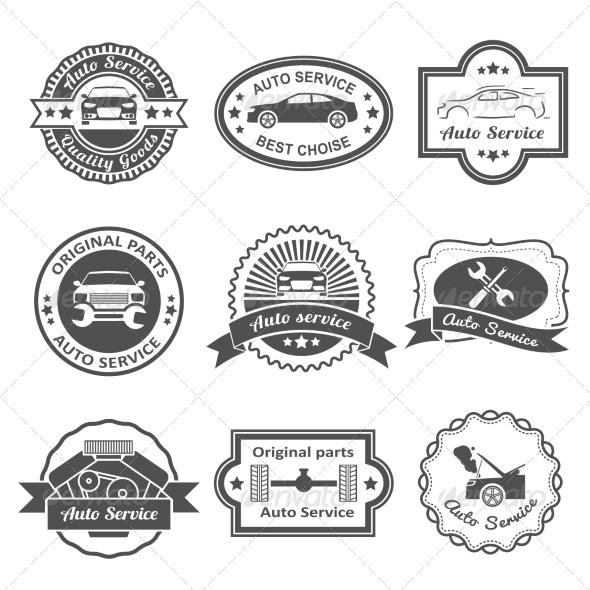 Auto Car Repair Service Icon Symbol Rapidshare » Dondrup.com