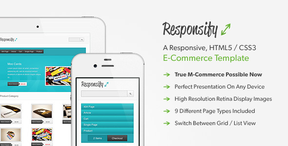 Responsify HTML / CSS Template
