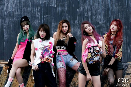 Girl Generation Hd Wallpaper 2015 Updated Exid Is All About Quot Hot Pink Quot In Comeback Teaser