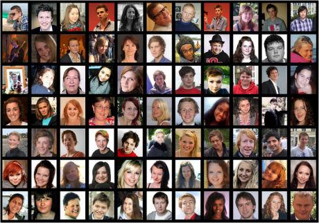 OFRENE: 77 mennesker ble drept og 42 alvorlig skadet 22. juli. Under opplesingen av dommen blir det satt av tid til å minnes dem. Faksimile: Minneord - slik minnes vi våre kjære