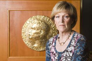 VIL IKKE SI NOE: Inger-Marie Ytterhorn er medlem av Nobelkomiteen.