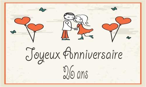 100 carte anniversaire