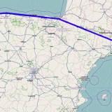 Animation der Routenplanung