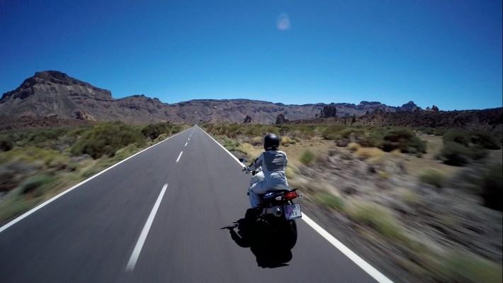 BMW F800 - Canadas del Teide