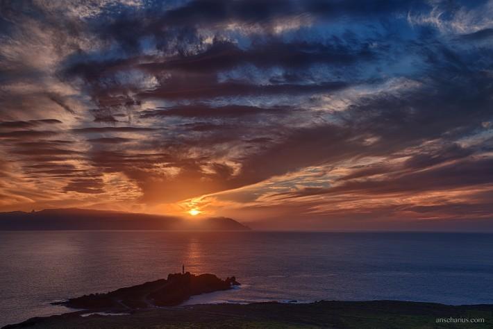 La-Gomera-Sunset
