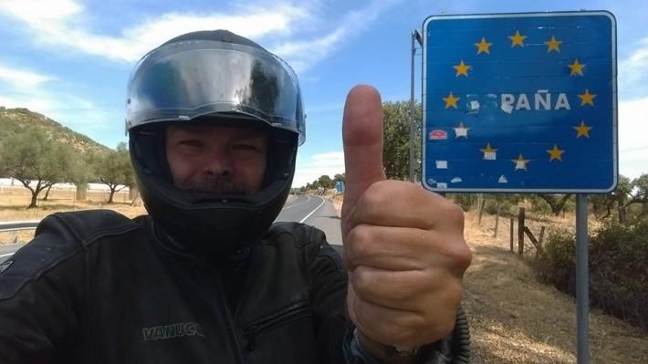 Selfie-in-Spanien