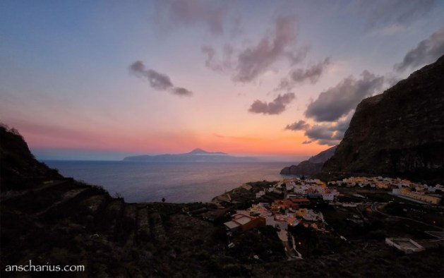 La Gomera Sunset - GoPro 4 Black Edition