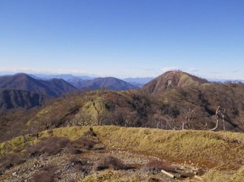 日本百名山「塔ノ岳~丹沢山~蛭ケ岳」(戸沢口より蛭ヶ岳ピストン)