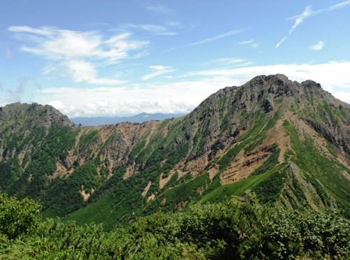 日本百名山「八ヶ岳」(赤岳山荘より阿弥陀岳経由赤岳・地蔵尾根周回)