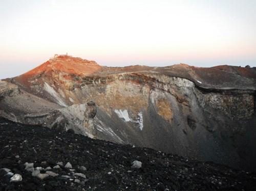 日本百名山「富士山」(富士宮口より御来光)