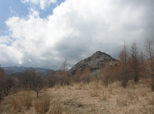 日本二百名山「乾徳山」(道満尾根経由)