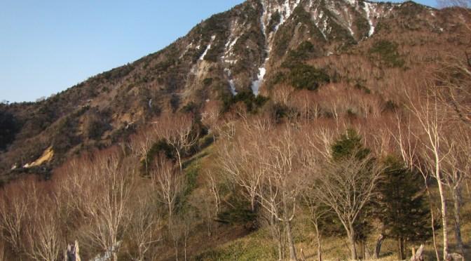 日本百名山「皇海山」(船石峠駐車場より松木渓谷経由栗原川林道下山)