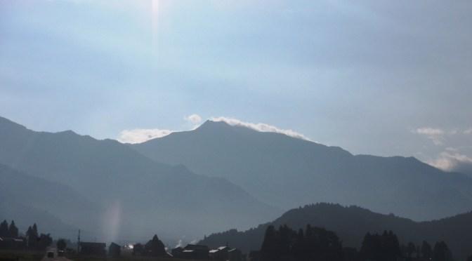日本百名山「巻機山」(井戸尾根コースピストン)