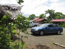 パラオエコテーマパーク駐車場