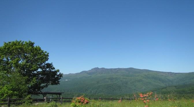 日本百名山「四阿山」(菅平牧場より四阿山、根子岳周回)