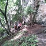 甲府幕岩「豊穣の森」(外岩初体験)