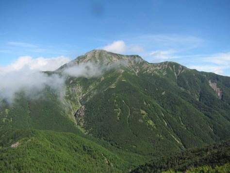 日本百名山「聖岳」
