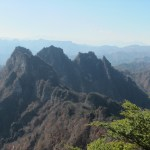 日本二百名山「妙義山」(妙義神社より表妙義縦走)