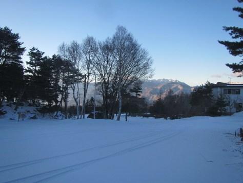 富士見高原ゴルフ場駐車場