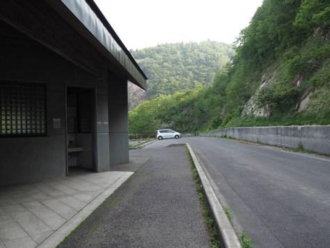 不動沢登山口駐車場