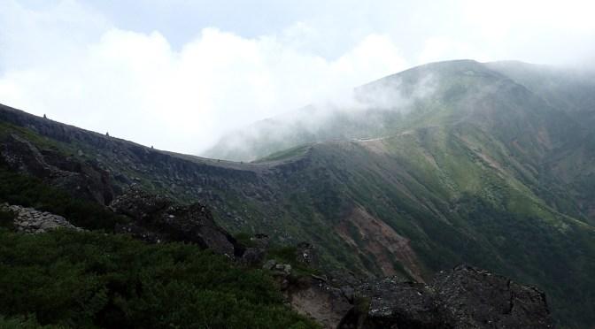 日本百名山「八ヶ岳(硫黄岳)」(桜平より硫黄岳、赤岩の頭周回)