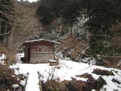 一軒小屋避難小屋