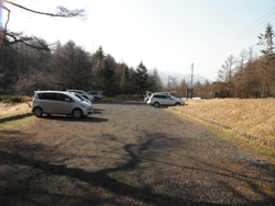 蓼科山登山口駐車場