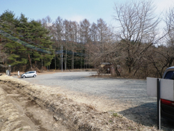 茅ヶ岳登山口駐車場
