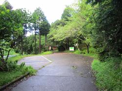 県民の森駐車場