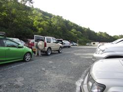 鳩待峠駐車場
