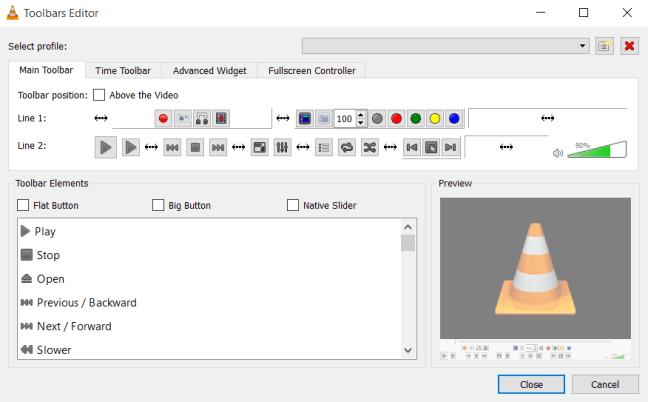 Toolbars Editor