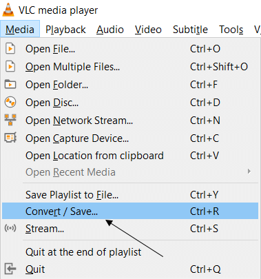 Media Convert/Save
