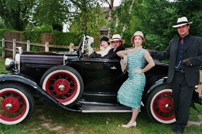 oldcar wedding france