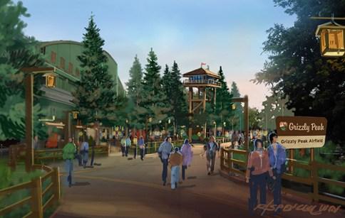 Grizzly Peak Expansion at Disney California Adventure Park https://1000000peoplewholovedisney.wordpress.com/2015/03/09/grizzly-peak-expansion-at-disney-california-adventure-park/