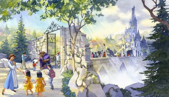 Tokyo Disney Resort Updates- Beauty And The Beast area at Tokyo Disneyland https://1000000peoplewholovedisney.wordpress.com/2015/05/05/tokyo-disney-resort-updates/