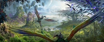 New Avatar Land Details – Animal Kingdom https://1000000peoplewholovedisney.wordpress.com/2015/09/16/new-avatar-land-details-animal-kingdom/