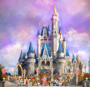 New Castle Stage Show Coming To Walt Disney World https://1000000peoplewholovedisney.wordpress.com/2016/02/15/new-castle-stage-show-coming-to-walt-disney-world/