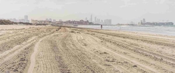 abu, bay, beach, beautiful, blue, coast, coastline, dhabi, gulf, holiday, horizon, ocean, palm, sand, skyline, travel, uae, vacation, water