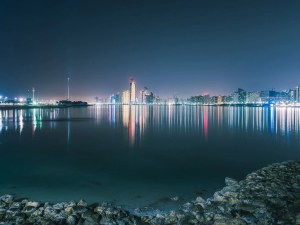 architecture, beautiful, blue, building, city, cityscape, colourful, downtown, dubai, dubai skyline, emirates, horizon, illuminated, landmark, landscape, light, modern, night, night sky, night skyline, nightlife, panorama, panoramic, scene, sky, skycraper, skyline, skyscraper, skyscrapers, tourism, tower, travel, uae, urban, view